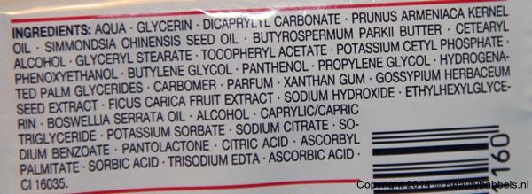 ingredienten balea