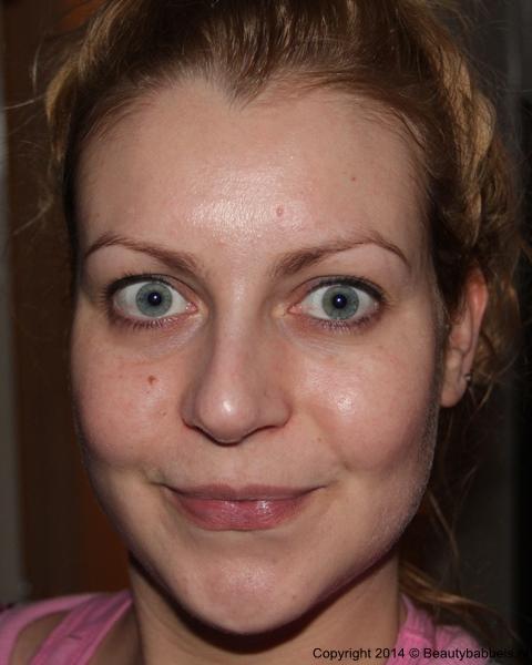 huid na het masker