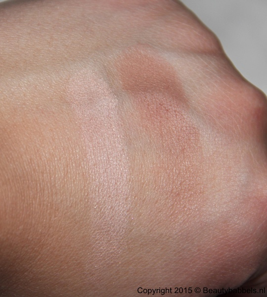 swatch bronzer en highlighter